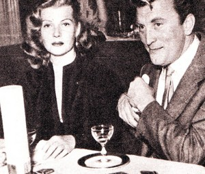 Rita Hayworth with Kirk Douglas