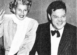 Rita and Orson Wells