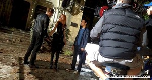 'Shadowhunters' behind the scenes