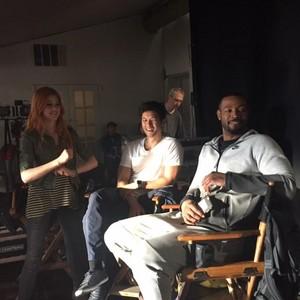 'Shadowhunters' on set