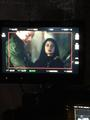 'Shadowhunters' on set - jace-wayland photo