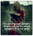 Trust - quotes fan art