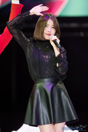 131207 IU at Dungeon and Fighter Festival