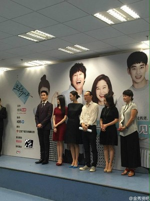 150829 Cast of Producer press conference in Shanghai China