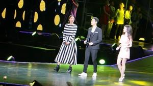 150829 Hyo Jin, IU, Soo Hyun at The Producers Fanmeeting in Shanghai