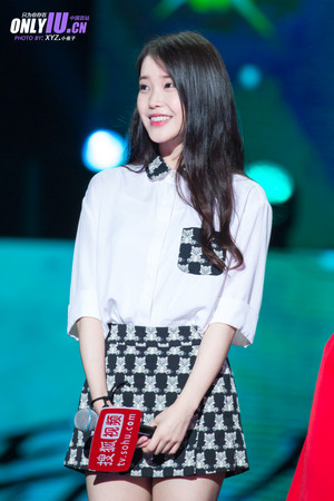 150829 IU at Producer Shanghai Fanmeeting