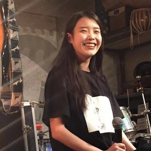 150901 IU at Ohyuk Band's performance