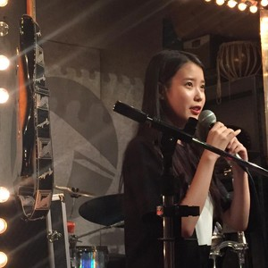 150901 IU at Ohyuk Band's performance