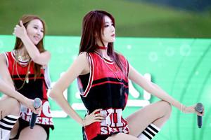 150905 Nine Muses Hyuna | Suncheon Country Garden کنسرٹ