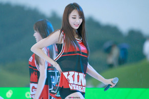 150905 Nine Muses Kyungri | Suncheon Country Garden コンサート