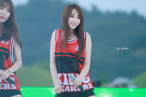 150905 Nine Muses Kyungri | Suncheon Country Garden コンサート