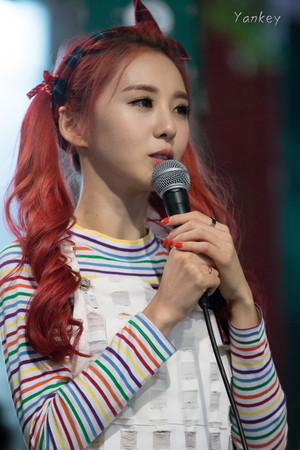 150906 2EYES Dasom Hongdae Guerrilla show, concerto