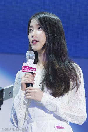 150908 李知恩 at Samsung Play the Challenge Talk 音乐会