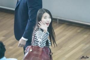 150912 IU at Incheon Airport Leaving for Hong Kong