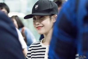150913 IU at Incheon Airport Back From Hong Kong