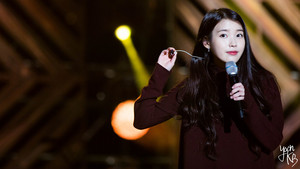 150919 iu at Melody Forest Camp konser