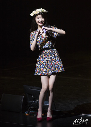 150920 iu 7th Debut Anniversary Fanmeeting