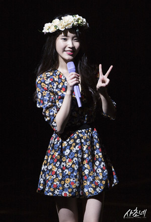 150920 आई यू 7th Debut Anniversary Fanmeeting