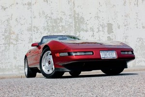 1993 Chevrolet Corvette convertibile, convertible