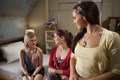 2x01 - In the Middle, Somewhat Elevated - Grace, Tara and Abigail - dance-academy photo