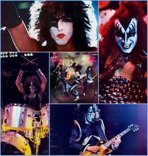 "40 Years 以前 today: 吻乐队(Kiss) Releases ""ALIVE!"" ~September 10, 1975"