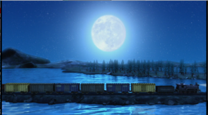 A beautiful night sky