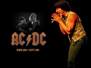 AC/DC Brian Johnson দেওয়ালপত্র