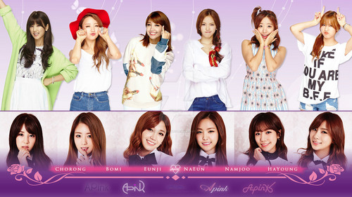 APink Wallpaper Containing A Portrait Entitled APINK
