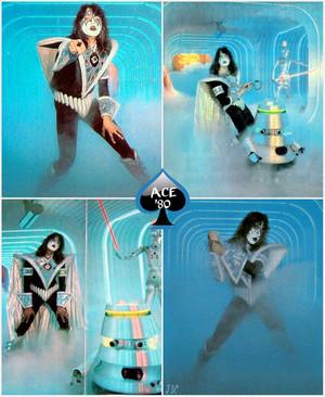 Ace ~July 1980 (NYC - Unmasked foto Session)