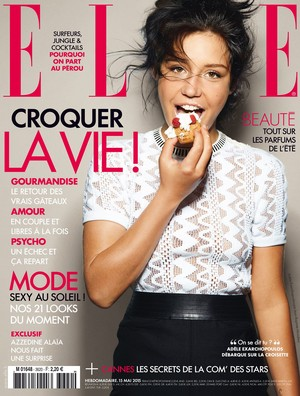 Adele Exarchopoulos - Elle France Cover - 2015