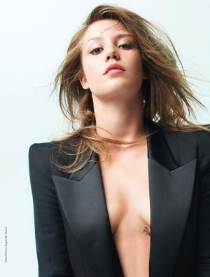 阿黛尔 Exarchopoulos - Elle France Photoshoot - 2013