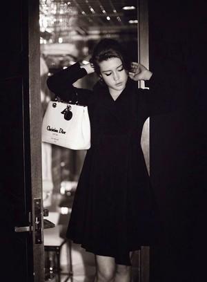 अडेल Exarchopoulos - Harper's Bazaar Germany Photoshoot - 2015