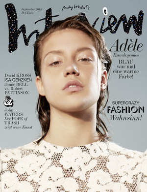 अडेल Exarchopoulos - Interview Magazine Germany Photoshoot - 2015
