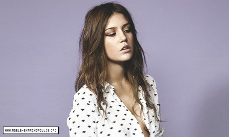 अडेल Exarchopoulos - The Guardian Photoshoot - 2013