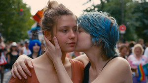 Adele Exarchopoulos as Adele in La vie d'adele / Blue Is the Warmest Color