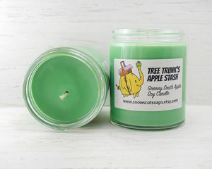 Adventure Time character soy candles