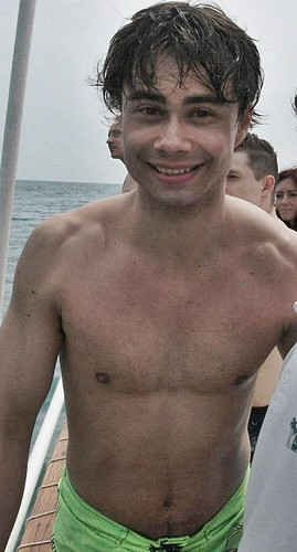 Alexander Rybak wallpaper possibly containing a hunk, swimming trunks, and a six pack called Alexander Rybak