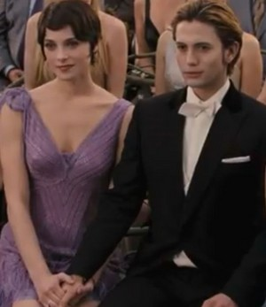 Alice and Jasper at Edward and Bella's wedding