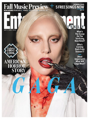 American Horror Story: Hotel First Look on Entertaiment Weekly Cover