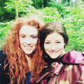 Amy and Emilie  - once-upon-a-time photo