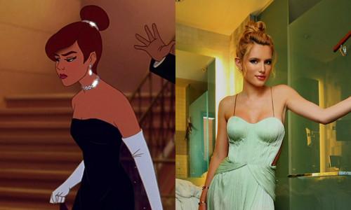 celebrity look alike gowns