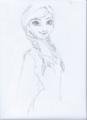 Anna - elsa-and-anna fan art