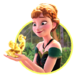 Anna - frozen icon
