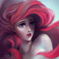 Ariel - childhood-animated-movie-heroines fan art