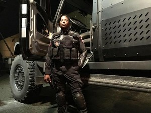 Arrow - Season 4 - First Look at Rutina Wesley
