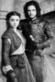 Arya Stark and Jon Snow - game-of-thrones fan art