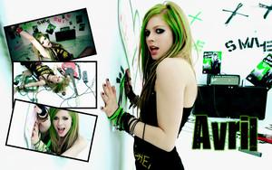 Avril Lavigne fond d'écran ♥