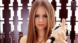Avril Lavigne karatasi la kupamba ukuta ♥