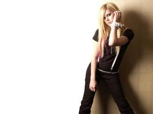 Avril Lavigne fondo de pantalla ♥