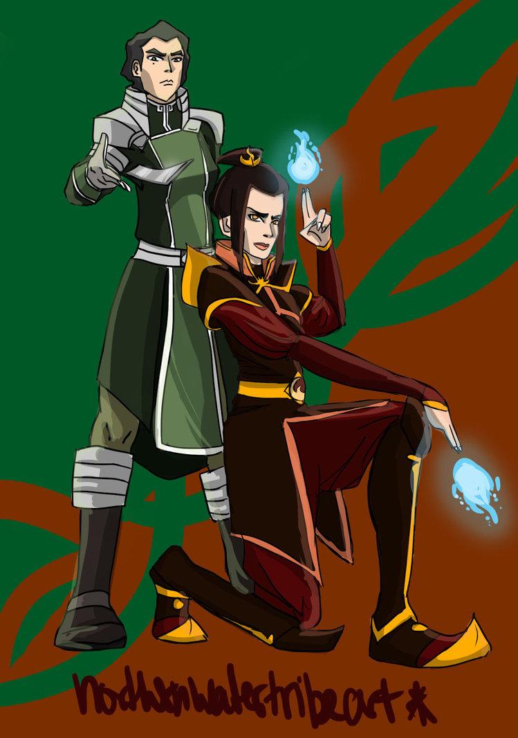 Azula and Kuvira